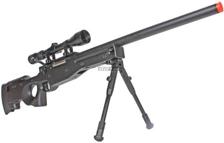 BBTac BT59 Airsoft Sniper Rifle Bolt Action with 3X Rifle Scope