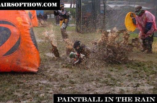 Paintball in the rain
